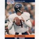 1990 Pro Set Football #452 Jim Harbaugh - Chicago Bears