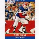 1990 Pro Set Football #437 Shane Conlan - Buffalo Bills