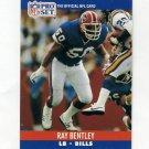 1990 Pro Set Football #436 Ray Bentley - Buffalo Bills