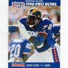 1990 Pro Set Football #417 Jackie Slater - Los Angeles Rams