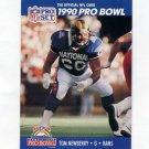 1990 Pro Set Football #410 Tom Newberry - Los Angeles Rams
