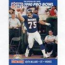 1990 Pro Set Football #407 Keith Millard - Minnesota Vikings