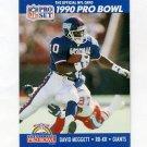 1990 Pro Set Football #406 Dave Meggett - New York Giants