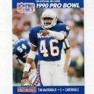 1990 Pro Set Football #404 Tim McDonald - Phoenix Cardinals