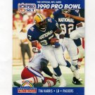 1990 Pro Set Football #393 Tim Harris - Green Bay Packers