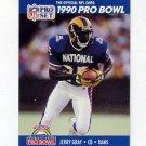 1990 Pro Set Football #391 Jerry Gray - Los Angeles Rams