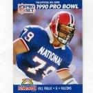1990 Pro Set Football #389 Bill Fralic - Atlanta Falcons