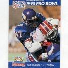 1990 Pro Set Football #382 Joey Browner - Minnesota Vikings