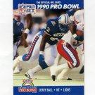 1990 Pro Set Football #381 Jerry Ball - Detroit Lions