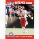 1990 Pro Set Football #370 Webster Slaughter - Cleveland Browns