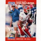 1990 Pro Set Football #366 Andre Reed - Buffalo Bills
