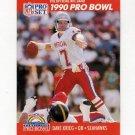 1990 Pro Set Football #349 Dave Krieg - Seattle Seahawks