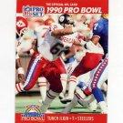 1990 Pro Set Football #346 Tunch Ilkin - Pittsburgh Steelers