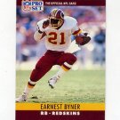 1990 Pro Set Football #320 Earnest Byner - Washington Redskins