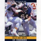 1990 Pro Set Football #281 Billy Ray Smith - San Diego Chargers