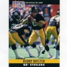 1990 Pro Set Football #267 Bubby Brister - Pittsburgh Steelers