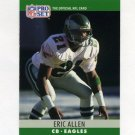 1990 Pro Set Football #243 Eric Allen - Philadelphia Eagles
