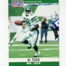 1990 Pro Set Football #240 Al Toon - New York Jets