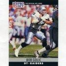 1990 Pro Set Football #154 Bob Golic - Los Angeles Raiders
