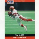1990 Pro Set Football #064 Tim McGee - Cincinnati Bengals