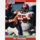 1990 Pro Set Football #031 Tony Casillas - Atlanta Falcons