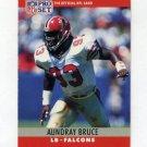 1990 Pro Set Football #030 Aundray Bruce - Atlanta Falcons