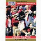 1990 Pro Set Football #022A Anthony Thompson RC - Phoenix Cardinals