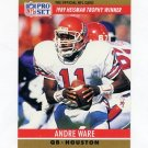 1990 Pro Set Football #019A Andre Ware RC - Detroit Lions