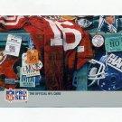 1990-91 Pro Set Super Bowl 160 Football #159 Bottom Row Middle Super Bowl XXV Puzzle
