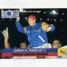 1991 Pro Set Football WLAF Inserts #02 World League Opener London Monarchs / Frankfurt Galaxy