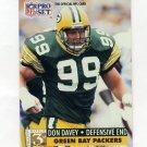 1991 Pro Set Football #796 Don Davey - Green Bay Packers