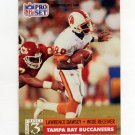 1991 Pro Set Football #795 Lawrence Dawsey RC - Tampa Bay Buccaneers