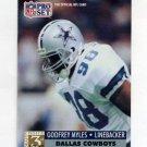 1991 Pro Set Football #791 Godfrey Myles RC - Dallas Cowboys