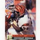 1991 Pro Set Football #747 Alfred Williams - Cincinnati Bengals