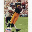 1991 Pro Set Football #715 1st Place Color Photo / Sterling Sharpe - Green Bay Packers