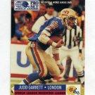 1991 Pro Set Football #710 Judd Garrett RC - London Monarchs