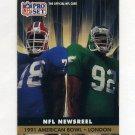 1991 Pro Set Football #691 American Bowl - London