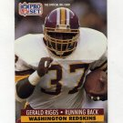 1991 Pro Set Football #683 Gerald Riggs - Washington Redskins