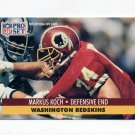 1991 Pro Set Football #678 Markus Koch - Washington Redskins