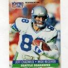 1991 Pro Set Football #658 Jeff Chadwick - Seattle Seahawks
