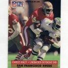 1991 Pro Set Football #651 Charles Haley - San Francisco 49ers