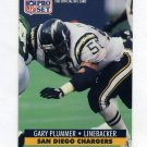 1991 Pro Set Football #642 Gary Plummer - San Diego Chargers