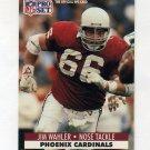 1991 Pro Set Football #630 Jim Wahler RC - Phoenix Cardinals