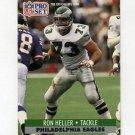 1991 Pro Set Football #616 Ron Heller - Philadelphia Eagles