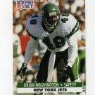 1991 Pro Set Football #611 Brian Washington - New York Jets