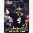 1991 Pro Set Football #594 Steve Walsh - New Orleans Saints