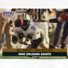 1991 Pro Set Football #591 Eric Martin - New Orleans Saints