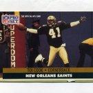1991 Pro Set Football #587 Toi Cook RC - New Orleans Saints