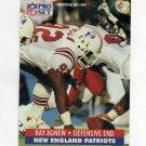 1991 Pro Set Football #577 Ray Agnew - New England Patriots