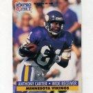 1991 Pro Set Football #569 Anthony Carter - Minnesota Vikings